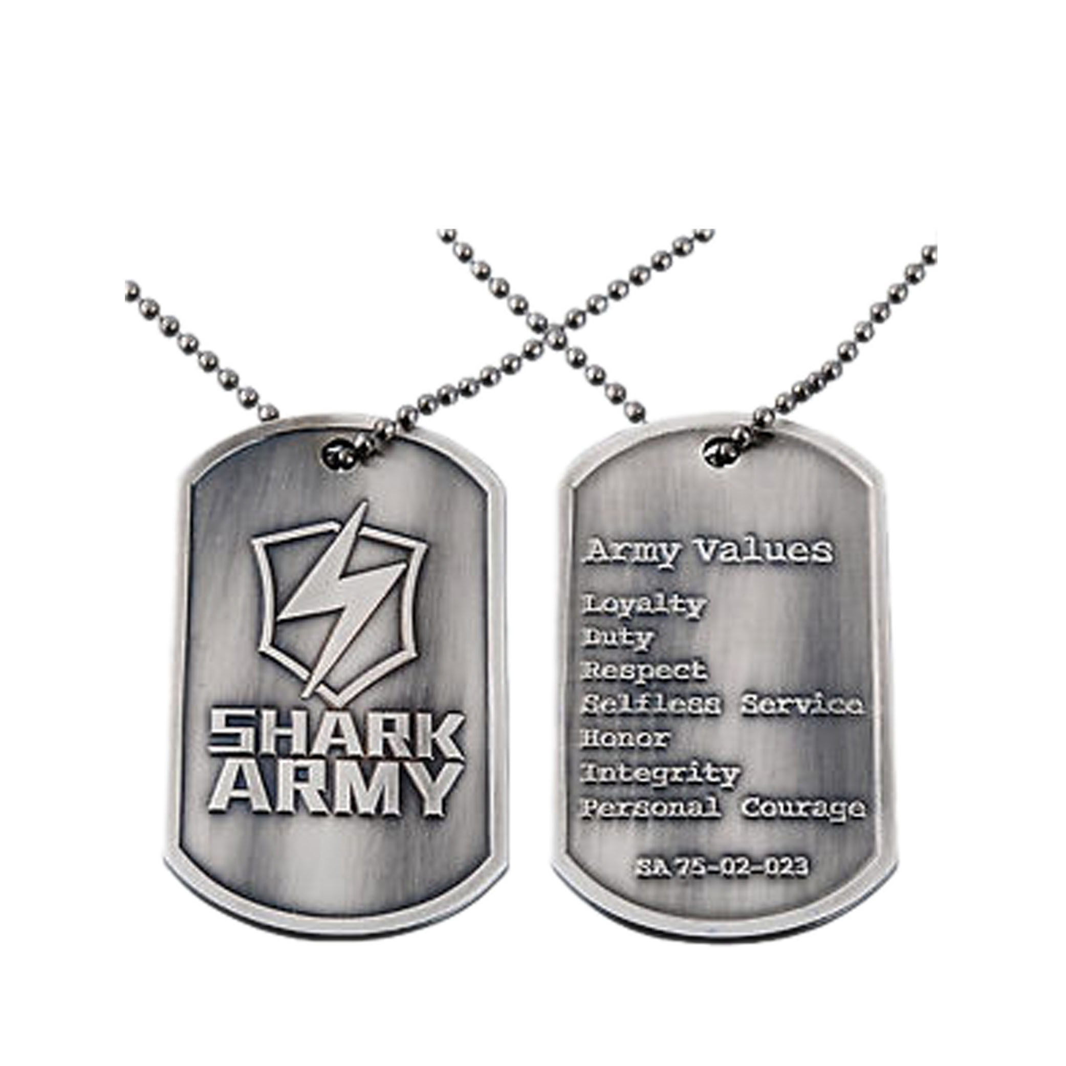 Embossed Dog Tags