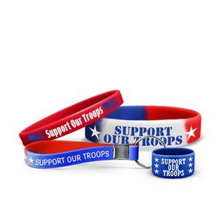 3/4 Inch Silicone Wristbands
