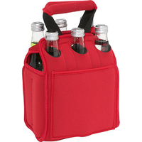 Neoprene 6 Pack Wine Cooler Bag Tote Bag