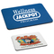 Sublimation Printed Polyester Cloth Rubber Mousepad