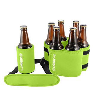Stubby Strip Beverage Holder Neoprene Beer Bottle Can Holder