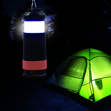 Water Proof Magnetic Portable Camping Light with Power Bank