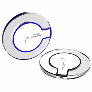 Qi 10W Fast Wireless LED Light Charging Pad