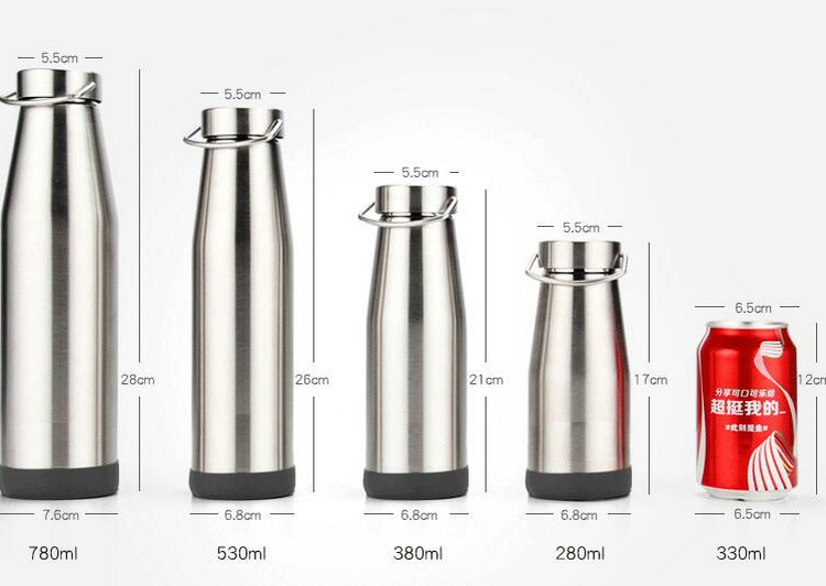 Stainless Steel Vacuum Double Wall Children Thermos Milk Bottle