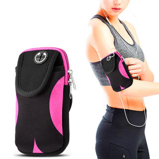 Neoprene Sport Armband Phone Pouch