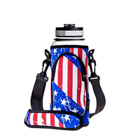 Water Bottle Holder With Adjustable Padded