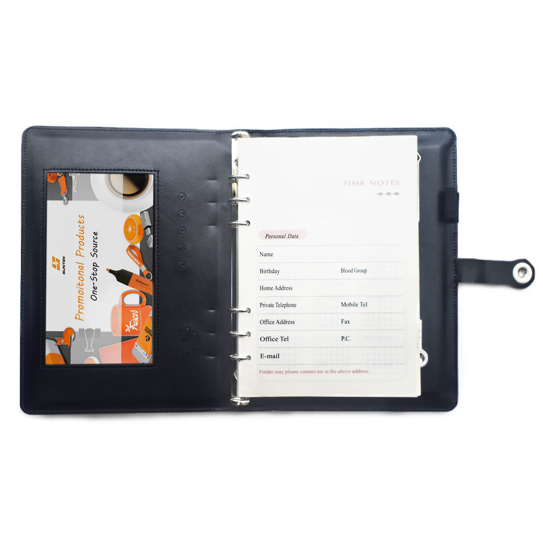 Video Screen Notebook w/ Power Bank & USB Flash Drive