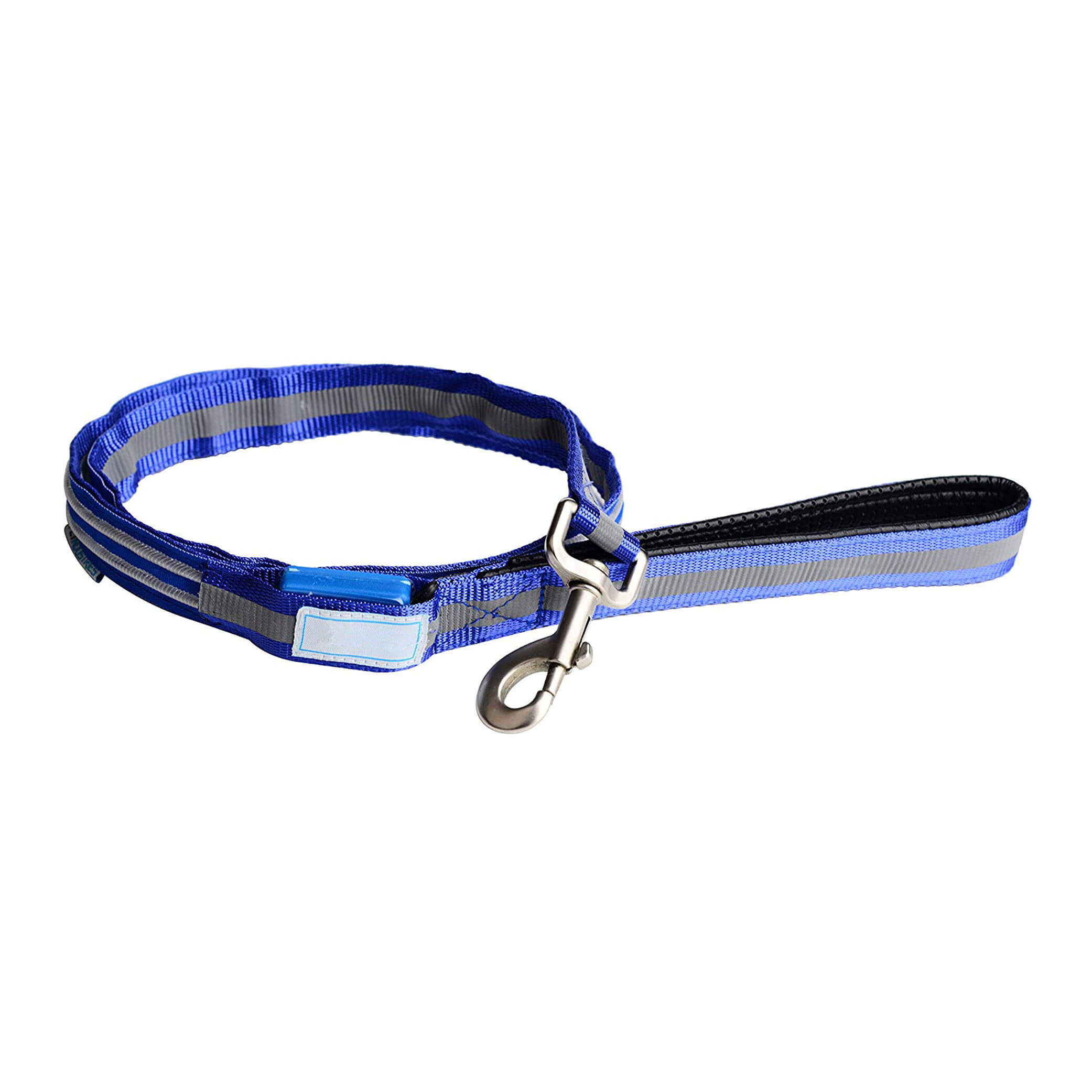 USB Rechargeable LED Reflective Dog Leash