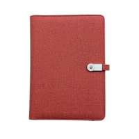 Power Bank Portfolio w/ USB Flash Drive & Card Slots